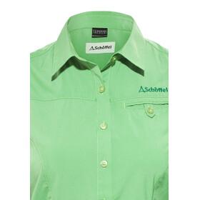 Schöffel Romana UV - Camiseta manga corta Mujer - verde